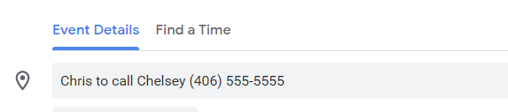 Click-to-Call Numbers